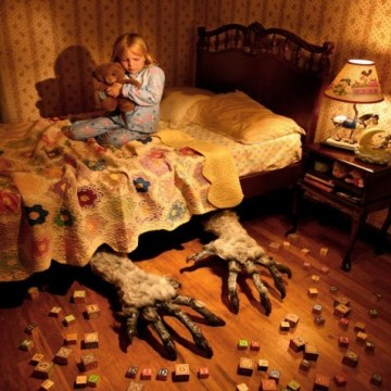 Aaaargh, un monstre sous mon lit !