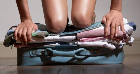 Comment fermer cette valise, hmmm