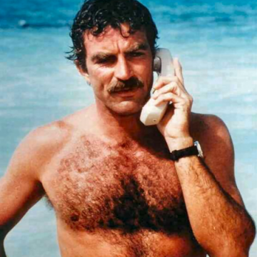 tom selleck poilu