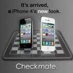 Affiche iPhone4 noir et blanc